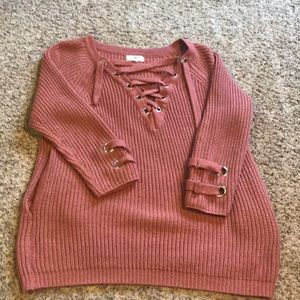 Orange Umgee sweater